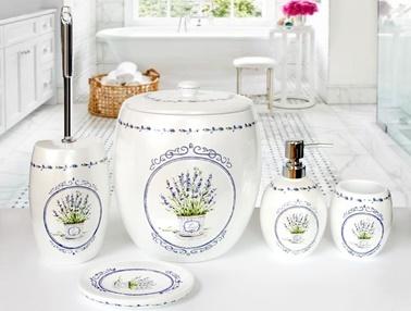 Lavender Banyo Kovası-İrya